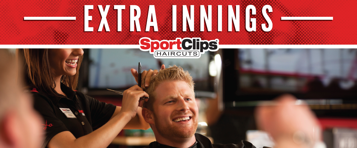 The Sport Clips Haircuts of Wayzata  Extra Innings Offerings
